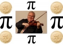 "Happy Pi Day! Get ""A Piece of Pi"" for Violin and Viola!"