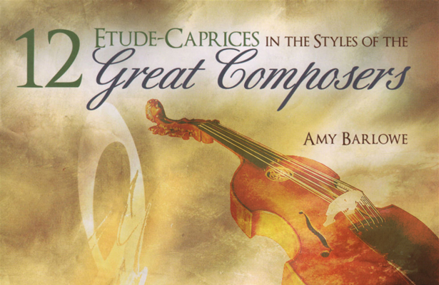 Amy Barlowe – 12 Etude-Caprices for Viola Solo