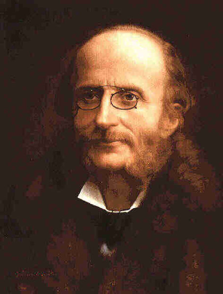 Portrait of Jacques Offenbach