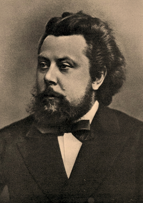 Portrait of Modest Mussorgsky