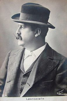 Image of Ruggiero Leoncavallo