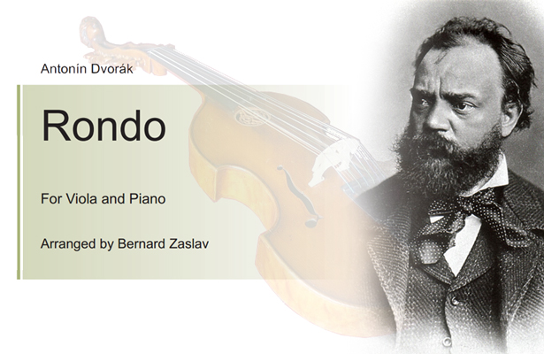 Bernard Zaslav – Dvorak G minor Rondo for Viola and Piano