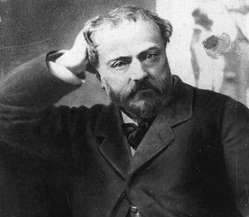 Portrait of Emmanuel Chabrier