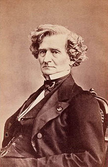 Portrait of Composer Hector Berlioz